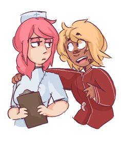 I ship it  Taiso-sensei×Not Rival Nurse-sensei