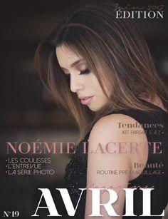 Noémie Lacerte - Cover Avril Magazine - June 2017