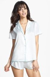 Betsey Johnson 'Sultry' Satin Short Pajamas