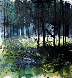 Pete Gilbert is a UK artist based in The New Forest. He works mainly in oils on both landscapes and abstract compositions. Abstract Landscape Painting, Watercolor Landscape, Landscape Art, Landscape Paintings, Landscape Photography, Abstract Paintings, Watercolor Trees, Watercolor Paintings, Watercolours
