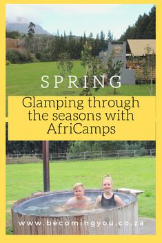 Glamping through the seasons: Spring at AfriCamps at Doolhof, Wellington Family Fun Day, Family Movie Night, Built In Braai, Ghost House, River Walk, Spring Activities, Spa Treatments, Stargazing, Outdoor Fun