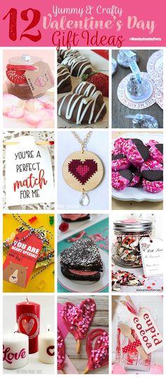 Yummy Crafty Valentine's Day Projects