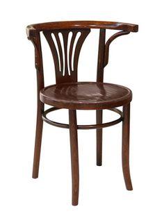 Lee Kleinhelter - Scallop Back Austrian Wood Chair
