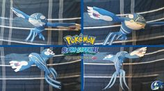 Pokemon - Primal Kyogre Free Papercraft Download…