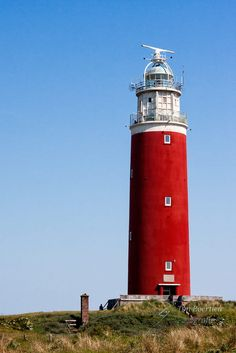 Lighthouse - Texel - Netherlands by lucy Beautiful Lights, Beautiful Places, Holland, Saint Mathieu, Lighthouse Pictures, Safe Harbor, Beacon Of Light, Water Tower, Corfu