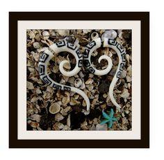 Fake Gauge Earrings  Natural White Bone Fancy Spiral by ANELAJADE, $22.00