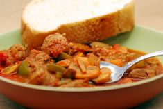 That is because in our book, there are a total of seven Mushroom Stew recipes. Mushroom Stew, Italian Hot, Hot Sausage, Stuffed Mushrooms, Stuffed Peppers, Italian Dishes, Eat, Cooking, Ethnic Recipes
