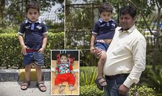 Indian boy, two, with rare disease that gives him sexual urges