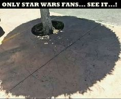 Only Star Wars fans see it.