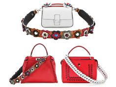 123b82c76e0 Embellished handbag straps are the new it charm - TheFashioniStyle