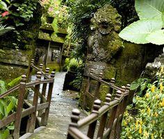Warwick Ibah, Ubud, Royal family property worked up as trad Bali style resort. Beautiful.