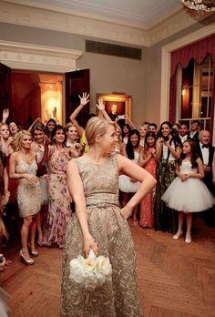 Brides.com: . Noelle's going-away dress (also by Oscar de la Renta) was originally designed for Annette Bening.