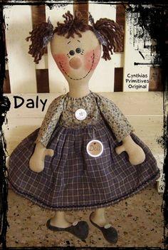CP102E Prim Rag Doll Pattern Daly-