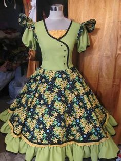 Dance Outfits, Dance Dresses, Kids Outfits, Girls Dresses, Kids Fashion, Fashion Outfits, Womens Fashion, Churidhar Neck Designs, Clogs Outfit