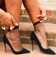 Are these #Shoes hot or not? Follow me for more #high #heels added daily Mens New Years Eve Outfit #socksandheels