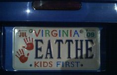 If you are like most people then vanity plates AKA custom license plates catch your eye. These 10 license plates that will make you laugh. Haha Funny, Hilarious, Funny Stuff, Funny Shit, Kid Stuff, Funny License Plates, Vanity Plate, Funny Signs, Just For Laughs