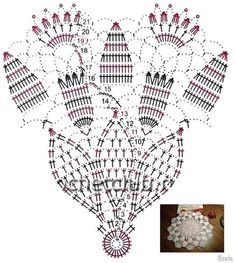 ilta4crochet - kto szydełkuje nie błądzi: Wielkanocne i wiosenne serwetki - schematy Crochet Stitches Chart, Crochet Doily Diagram, Crochet Doily Patterns, Crochet Art, Thread Crochet, Crochet Motif, Crochet Shawl, Crochet Dollies, Crochet Potholders