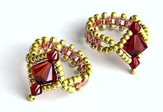 Instructions for Making Golden Baroque Jewellery Set - including ring and bracelet