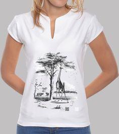 Camisetas Artysmedia - http://www.latostadora.com/artysmedia/jirafa/727514