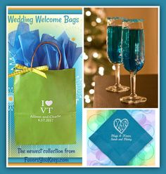 Do you love your state? Wedding welcome bag is app…