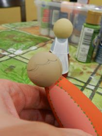 """Tips for Painting Peg Dolls for Beginners By a Beginner   - or """"The Things I Learned the Hard Way"""" -   Last December I got my first ..."""