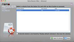 Remo Recover Mac - Select Mac...