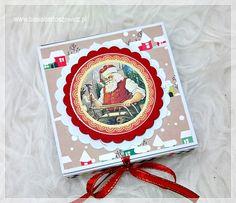 www.basiabartoszewicz.pl Chocolate Box, Mixed Media, Mixed Media Art