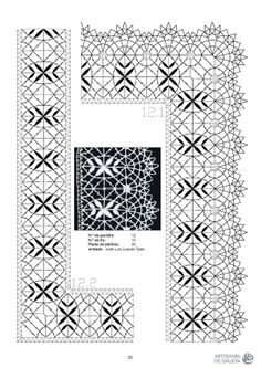 RAIZAME DO ENCAIXE GALEGO - Elena Corvini - Picasa-verkkoalbumit Bobbin Lace Patterns, Doodles Zentangles, Lace Making, Pattern Books, String Art, Tatting, Quilts, Crafts, Stencils