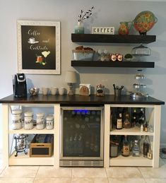 Awesome Apartment Coffee Bar Ideas That Trending In Your Country Home coffee stations, Wine And Coffee Bar, Coffee Bar Home, Home Coffee Stations, Coffee Shop, Coffee Lovers, Coffee Bars, Coffee Bar Ideas, Home Wine Bar, Coffee Bar Design
