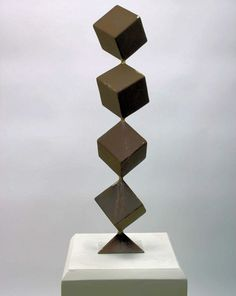 Image result for CUBE ABSTRACT SCULPTURE