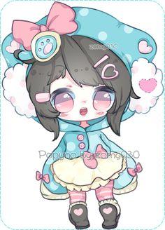 Chibi, Hana, Anime Girls, Kawaii, Deviantart, Drawings, Fictional Characters, Little Girls, Sketch