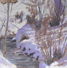 Todd Lachance; April Snow, 12 x 12
