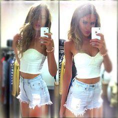 I <3 High Waisted Shorts!!!!!!! ((((((;;; xox
