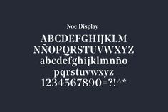 Font choice for furniture design and manufacturing business Enea designed by Clase bcn
