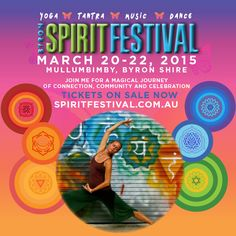 During the Byron Spirit Festival Delamay will be offering a Prana Vinyasa® workshop and a Yoga Trance Dance workshop! 20 - 22 March in Mullumbimby For bookings and more info www.spiritfestival.com.au