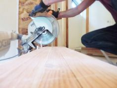 A compound miter saw is ideal for making clean crosscuts on wood. Here's how to use a compound miter saw, for straight, beveled or mitered cross cuts.