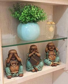 pinturas Baby Buddha, Little Buddha, Buddha Zen, Ethnic Home Decor, Indian Home Decor, Pintura Zen, Buddha Home Decor, Deco Zen, Small Balcony Decor
