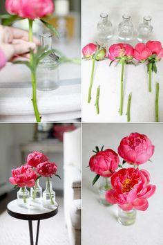 diy floral arrangements Spring Flower Arrangements, Silk Floral Arrangements, Flower Centerpieces, Spring Flowers, Diy Flowers, Flower Decorations, Diy Bouquet, Wedding With Kids, Design