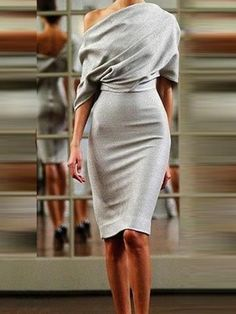 Sexy Off Shoulder Backless Bodycon Dress – lovejewelryacc fall dress outfits fashion dresses dresses outfit Look Fashion, Trendy Fashion, Womens Fashion, Fashion Design, Feminine Fashion, Fashion Ideas, Sophisticated Fashion, Runway Fashion, Winter Fashion