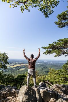 Made it to the top! At Sugarloaf mountain.
