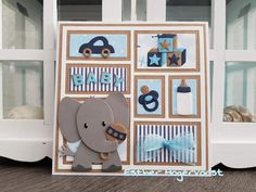 Baby Cards, Kids Cards, Baby Christening, Marianne Design, Welcome Baby, Baby Scrapbook, Shadow Box, Birthday Cards, Creations
