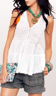 Boho Top....want this entire look<3