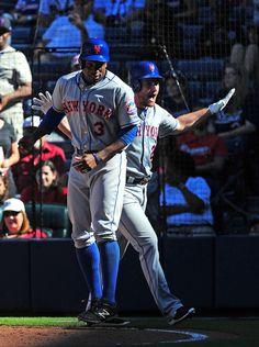 Curtis Granderson Photos Photos: New York Mets v Atlanta Braves Cheap Baseball Jerseys, Mets Baseball, Baseball Players, Mets Team, Ny Mets, New York Mets, Curtis Granderson, Daniel Murphy, Miami Marlins