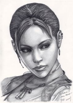 Sheva Alomar - Resident Evil 5 by *B-AGT on deviantART