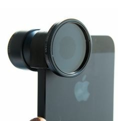 Improve your photos with the Olloclip Telephoto lens. This lens lets you shoot far away objects without having to zoom.