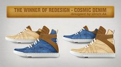 Congratulations Ulrich AK! Can't wait to get my denim Cosmics! Will be available from rooyinc.com!
