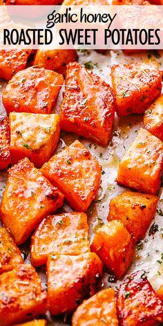 Savory Sweet Potato Recipes, Sweet Potato Side Dish, Sweet Potato Dinner, Potato Side Dishes, Vegetable Dishes, Oven Roasted Sweet Potatoes, Stuffed Sweet Potatoes, Baked Sweet Potato Oven