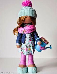 КРОЙКА И ПОДРОБЕН УРОК + НЯКОЛКО МОДЕЛА ПО-МОДЕРНИ ДРЕШКИ ЗА ИДЕЯ  Mimin Dolls: doll by J. Melnikova
