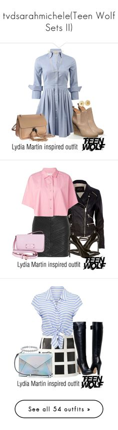 """""""tvdsarahmichele(Teen Wolf Sets II)"""" by nessiecullen2286 ❤ liked on Polyvore featuring Michael Kors, Gucci, Chanel, Gorjana, River Island, Balmain, Golden Goose, Yves Saint Laurent, Kate Spade and Dsquared2"""