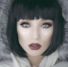 Makeuphall: The Internet`s best makeup, fashion and beauty pics are here. Work Hairstyles, Hairstyles With Bangs, Just Beauty, Hair Beauty, Blond Pony, Hair Inspo, Hair Inspiration, Medium Hair Styles, Short Hair Styles